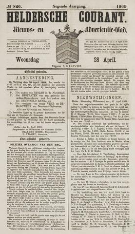 Heldersche Courant 1869-04-28