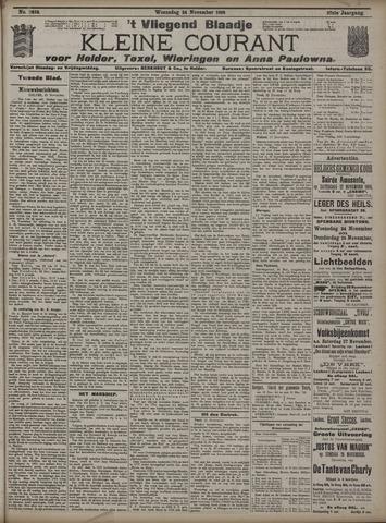Vliegend blaadje : nieuws- en advertentiebode voor Den Helder 1909-11-24