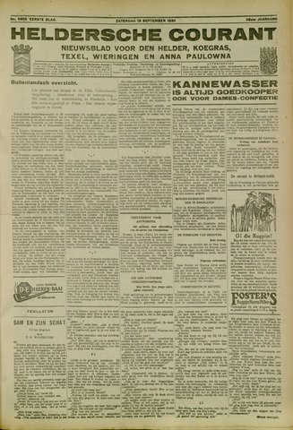 Heldersche Courant 1930-09-13