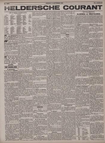 Heldersche Courant 1916-09-19