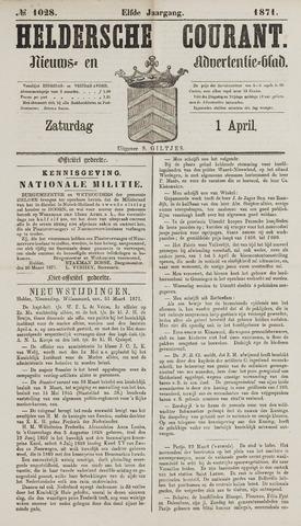 Heldersche Courant 1871-04-01