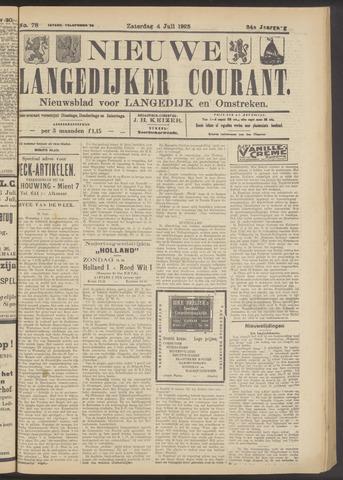 Nieuwe Langedijker Courant 1925-07-04