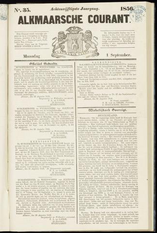 Alkmaarsche Courant 1856-09-01