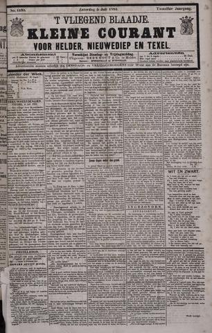 Vliegend blaadje : nieuws- en advertentiebode voor Den Helder 1884-07-05