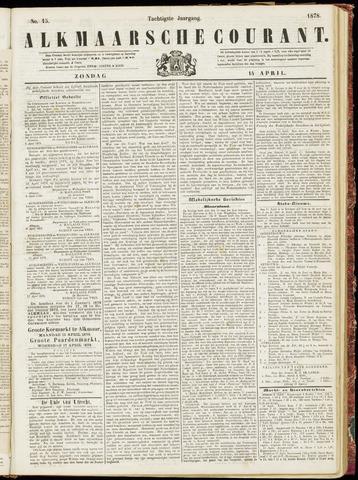 Alkmaarsche Courant 1878-04-14