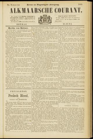 Alkmaarsche Courant 1895-06-16
