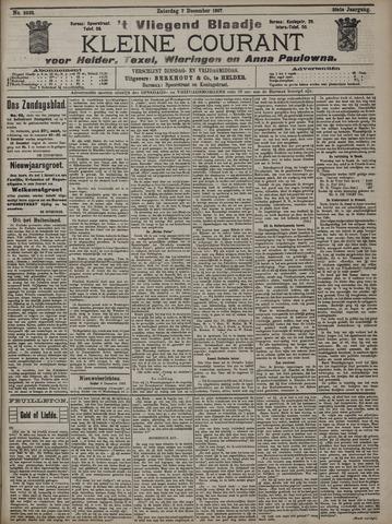 Vliegend blaadje : nieuws- en advertentiebode voor Den Helder 1907-12-07