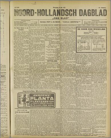 Ons Blad : katholiek nieuwsblad voor N-H 1922-05-24