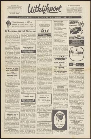 Uitkijkpost : nieuwsblad voor Heiloo e.o. 1968-12-19