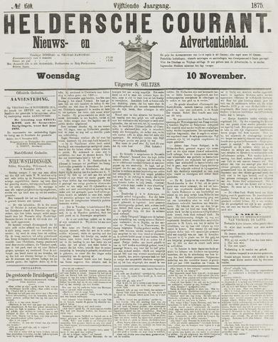 Heldersche Courant 1875-11-10