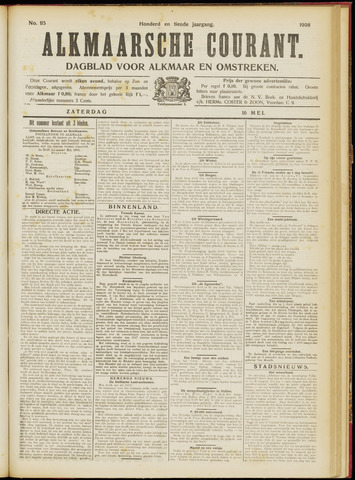 Alkmaarsche Courant 1908-05-16