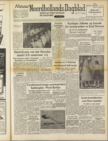 Nieuw Noordhollandsch Dagblad : voor Alkmaar en omgeving 1952-04-25