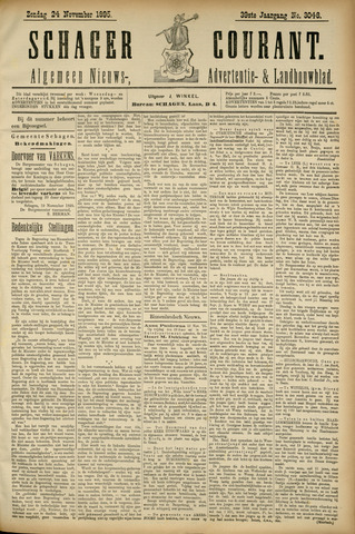 Schager Courant 1895-11-24