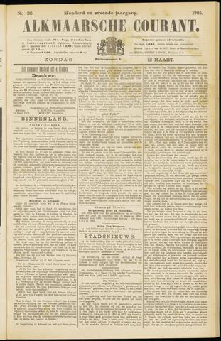 Alkmaarsche Courant 1905-03-12