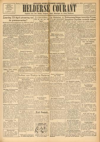 Heldersche Courant 1949-04-12