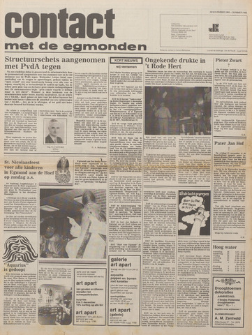Contact met de Egmonden 1980-11-26