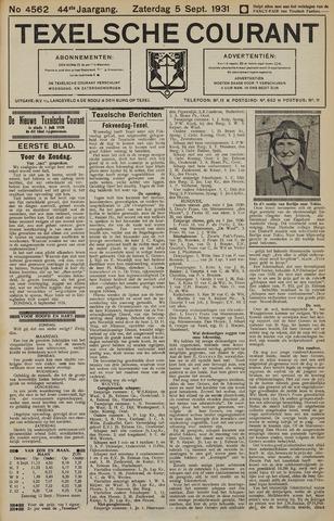 Texelsche Courant 1931-09-05