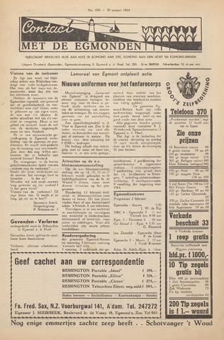 Contact met de Egmonden 1964-01-30