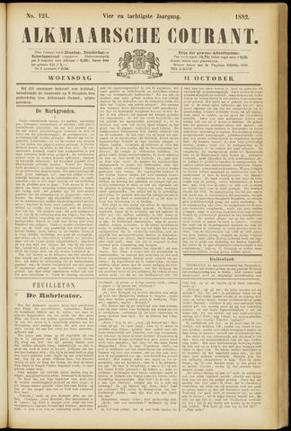 Alkmaarsche Courant 1882-10-11