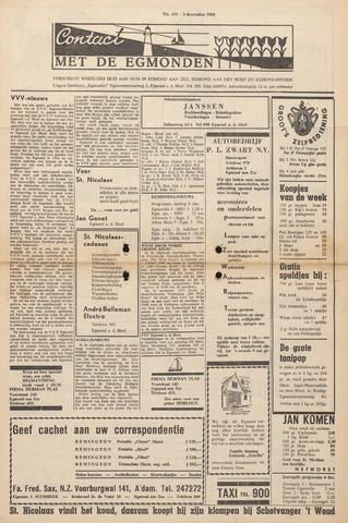 Contact met de Egmonden 1964-12-03