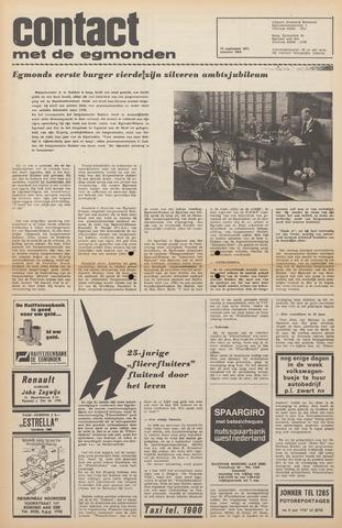 Contact met de Egmonden 1971-09-22