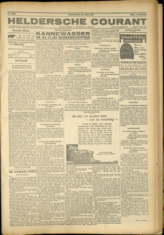 Heldersche Courant 1927-06-23