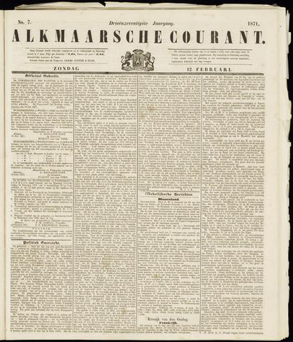 Alkmaarsche Courant 1871-02-12
