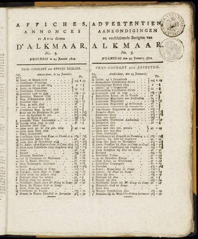Alkmaarsche Courant 1812-01-29