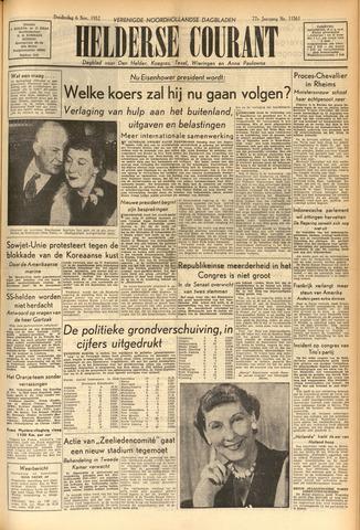 Heldersche Courant 1952-11-06