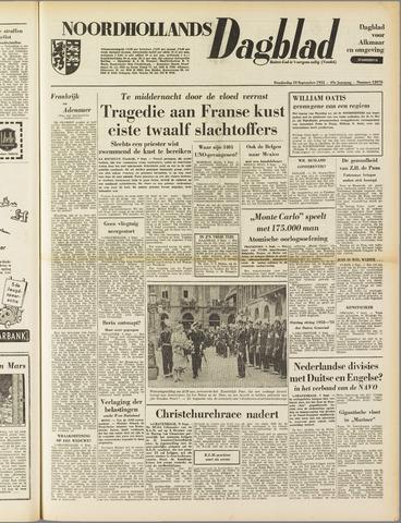 Noordhollands Dagblad : dagblad voor Alkmaar en omgeving 1953-09-10