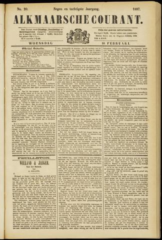 Alkmaarsche Courant 1887-02-16