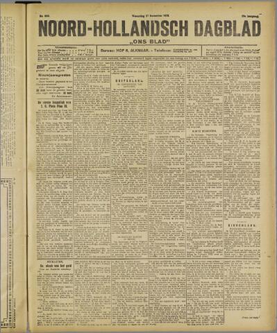 Ons Blad : katholiek nieuwsblad voor N-H 1922-12-27
