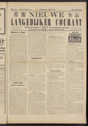 Nieuwe Langedijker Courant 1927-05-03