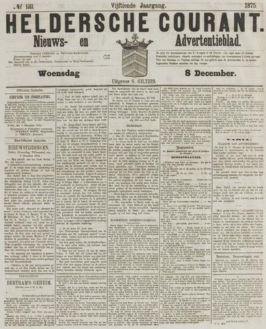 Heldersche Courant 1875-12-08