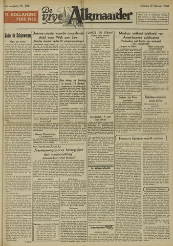 De Vrije Alkmaarder 1948-02-10