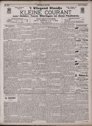 Vliegend blaadje : nieuws- en advertentiebode voor Den Helder 1904-07-06