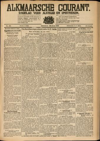 Alkmaarsche Courant 1930-07-29