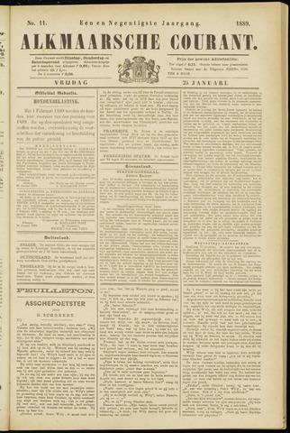 Alkmaarsche Courant 1889-01-25