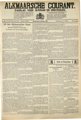 Alkmaarsche Courant 1937-10-07