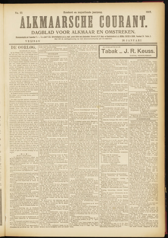 Alkmaarsche Courant 1917-01-26