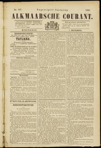 Alkmaarsche Courant 1888-12-05