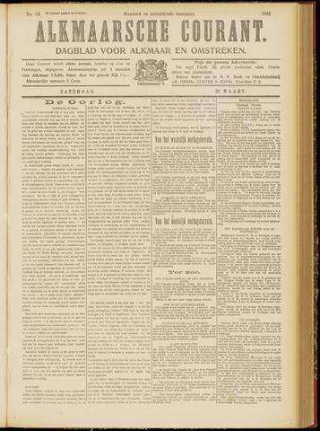 Alkmaarsche Courant 1915-03-27