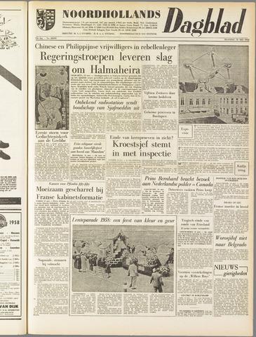 Noordhollands Dagblad : dagblad voor Alkmaar en omgeving 1958-05-12