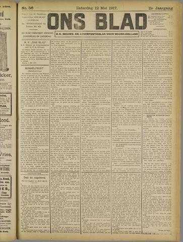 Ons Blad : katholiek nieuwsblad voor N-H 1917-05-12