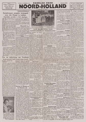Dagblad Noord-Holland, Schager editie 1943-09-28