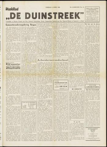 De Duinstreek 1956-04-06