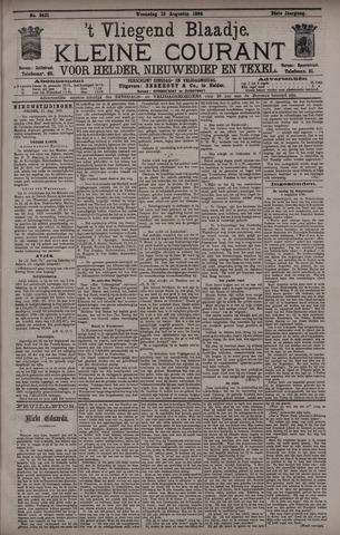 Vliegend blaadje : nieuws- en advertentiebode voor Den Helder 1896-08-12