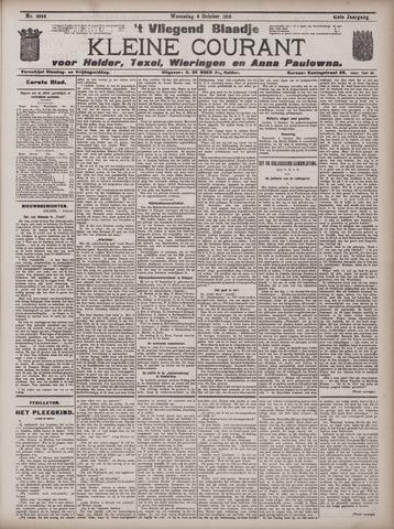 Vliegend blaadje : nieuws- en advertentiebode voor Den Helder 1913-10-08