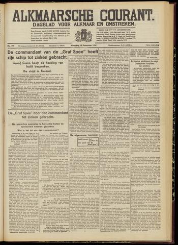 Alkmaarsche Courant 1939-12-18