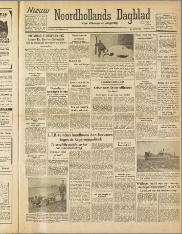 Nieuw Noordhollandsch Dagblad : voor Alkmaar en omgeving 1947-12-30